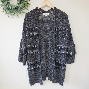 Knox Rose Textured Knit Cardigan Size Large